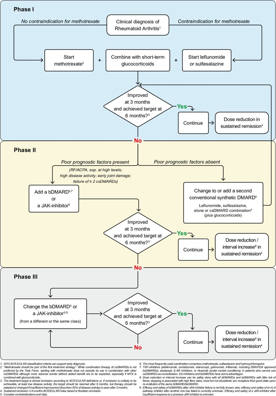 Eular guidelines