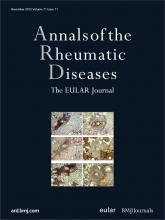 Annals of the Rheumatic Diseases: 71 (11)