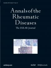 Annals of the Rheumatic Diseases: 71 (12)