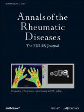 Annals of the Rheumatic Diseases: 71 (4)