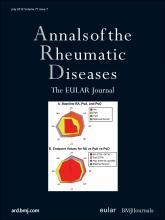 Annals of the Rheumatic Diseases: 71 (7)