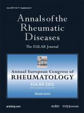 Annals of the Rheumatic Diseases: 71 (Suppl 3)