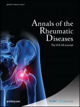Annals of the Rheumatic Diseases: 72 (4)