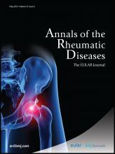 Annals of the Rheumatic Diseases: 72 (5)