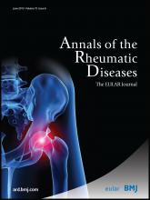 Annals of the Rheumatic Diseases: 72 (6)