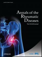 Annals of the Rheumatic Diseases: 72 (6)