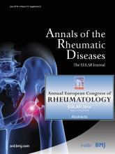 Annals of the Rheumatic Diseases: 73 (Suppl 2)