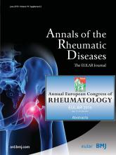 Annals of the Rheumatic Diseases: 74 (Suppl 2)