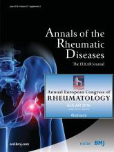 Annals of the Rheumatic Diseases: 75 (Suppl 2)