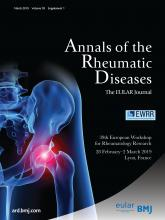 Annals of the Rheumatic Diseases: 78 (Suppl 1)